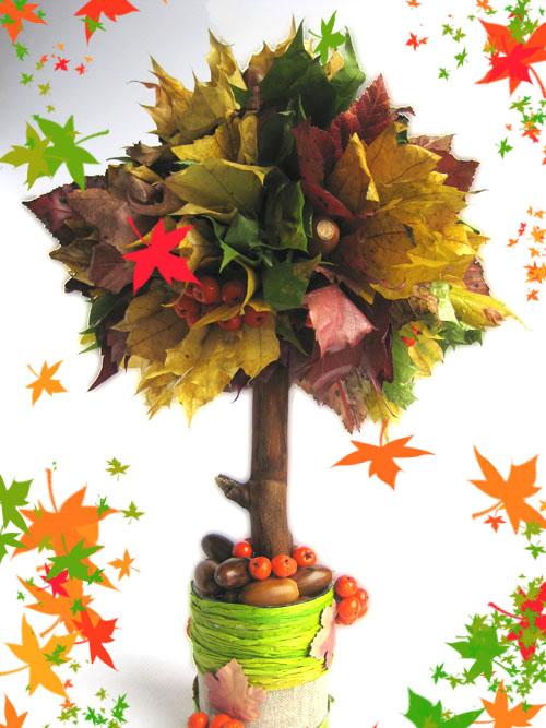 Поделка в садик тема осень